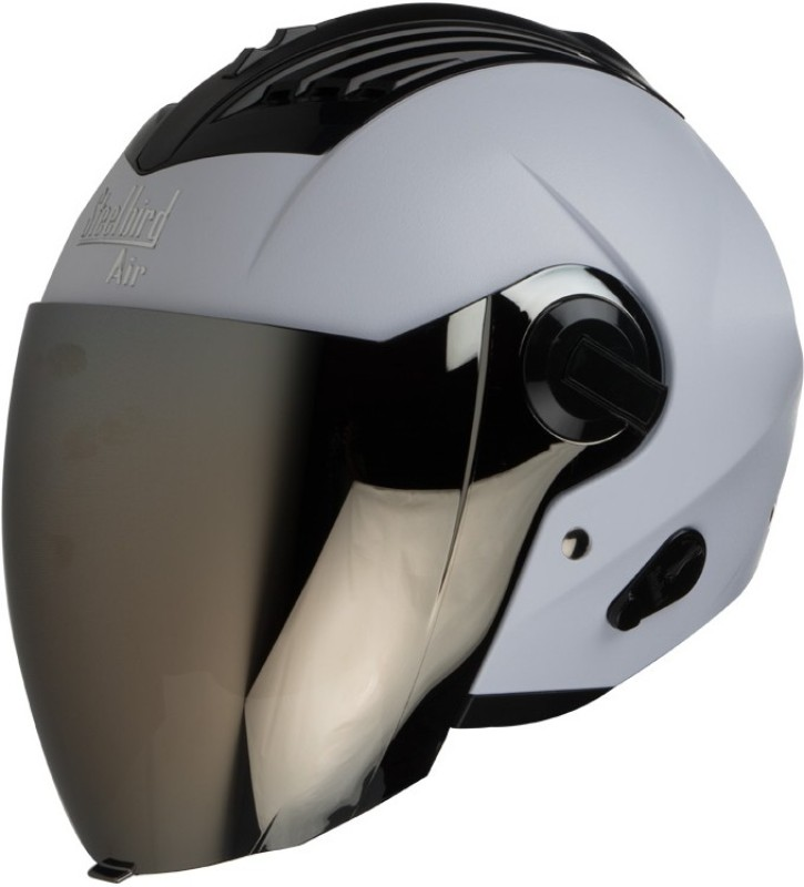 Steelbird AIR SBA-3-Dashing Motorbike Helmet(White)