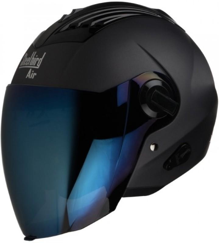 Steelbird AIR SBA-3 Matt Motorbike Helmet(Black)