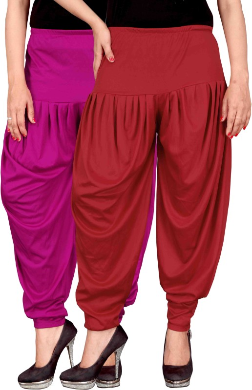 Culture The Dignity Lycra Striped Patiala