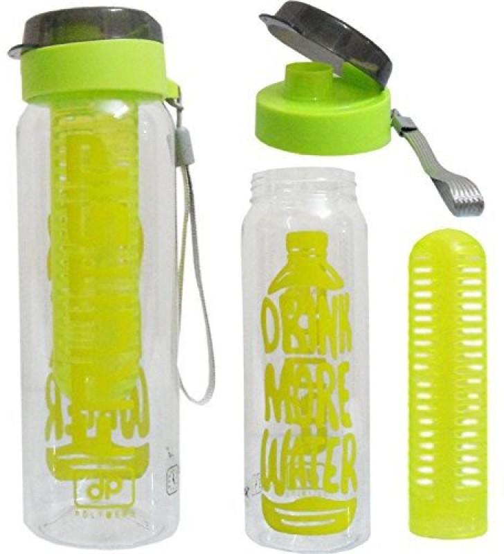 5 OClock Sports Infuser Water Bottle- 700 ML 700 ml Sipper(Pack of 1, Green)