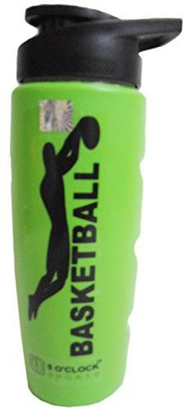 5 OClock Sports Sipper Water Bottle for Gym and Outdoor Sports (700 ml) (Green) 700 ml Sipper(Pack of 1, Green)