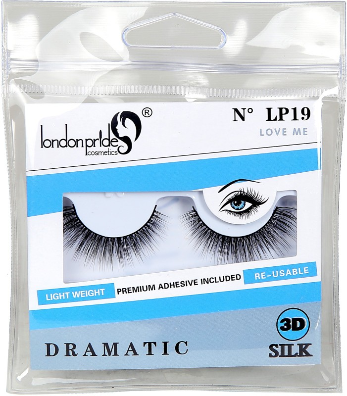 London Pride Cosmetics 3D SILK LOVE ME EYELASH DRAMATIC(Pack of 1)