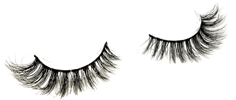 SuaveLook Exclusive 3D Mink Eyelashes 100% Siberian Mink Fur Hand-made Lashes 1 Pair Package(Pack of 1)