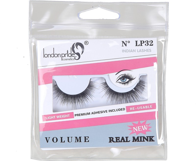 London Pride Cosmetics REAL MINK INDIAN LASHES VOLUME(Pack of 1)