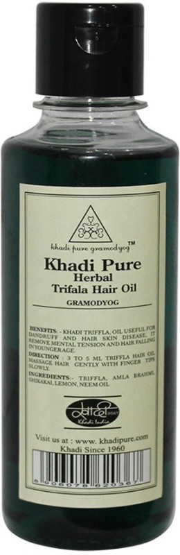 Khadi Pure Herbal Triphala Hair Oil(210 ml)