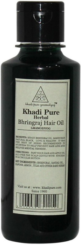 Khadi Pure Herbal Bhringraj Hair Oil(210 ml)