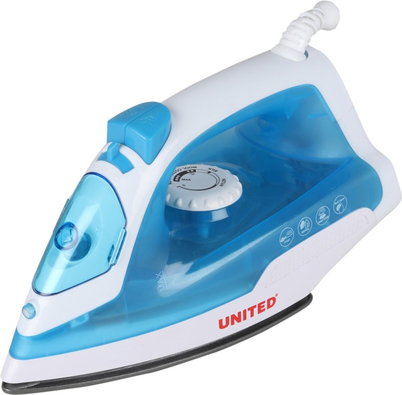 United SW105 ISI Mark Steam Iron(Blue)