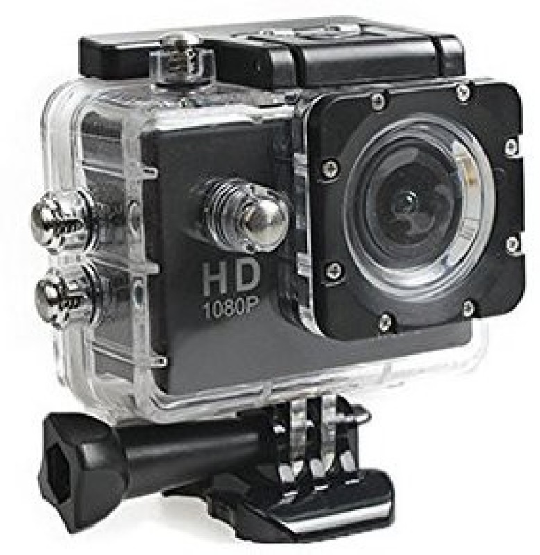 Maya MST-307-Black Action Camera with Wifi Sports and Action Camera(Black 12 MP)