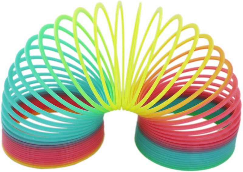 Shoppernation Magic Spring Slinky Toy Toy Magic Spring(Multi Color)