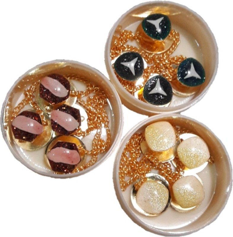 TLO jeans Button SHERWANI003 Metal Buttons(Pack of 12)