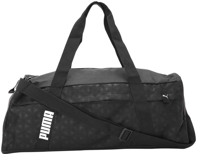 Puma Core Active Sportsbag L Travel Duffel Bag(Black)