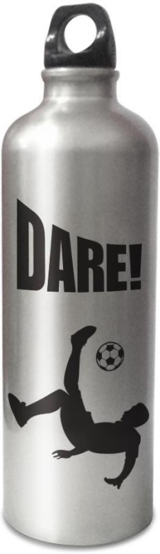 Hot Muggs Live the Sport: Soccer - Dare Stainless Steel Bottle 750 ml Bottle(Pack of 1, Multicolor)