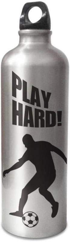 Hot Muggs Live the Sport: Soccer - Play Hard Stainless Steel Bottle 750 ml Bottle(Pack of 1, Multicolor)