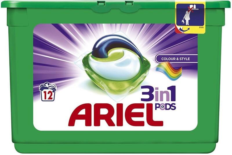 Ariel Colour And Safe Regular Detergent Pod(12 Pods)