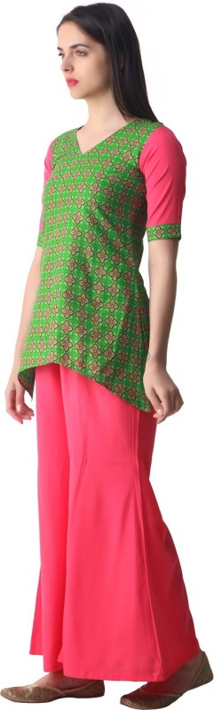 Gerua Women Kurta and Palazzo Set