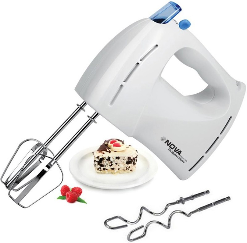 Nova NHM-2109 7 Speed 250 W Hand Blender(White)