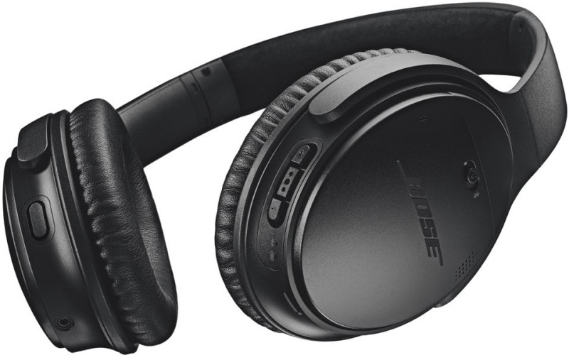 Bose Quietcomfort 35 II Wired Headset with Mic(Black, Over the Ear)