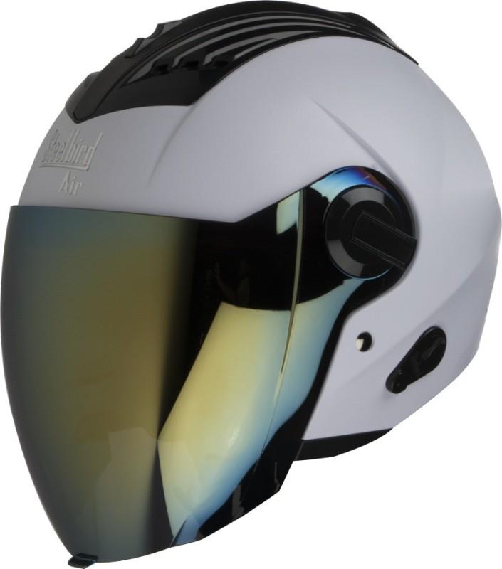 Steelbird SBA 3 Motorbike Helmet(White)