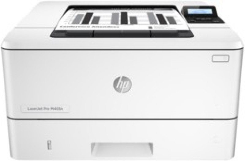 HP M403N Single Function Printer(White, Toner Cartridge)