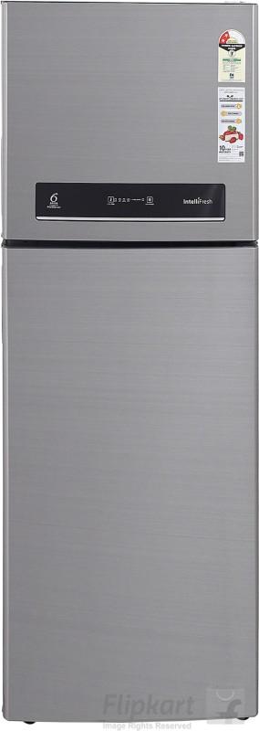Whirlpool 340 L Frost Free Double Door 2 Star Refrigerator(ILLUSIA STEEL, if 355 ELT illusia steel (2S))
