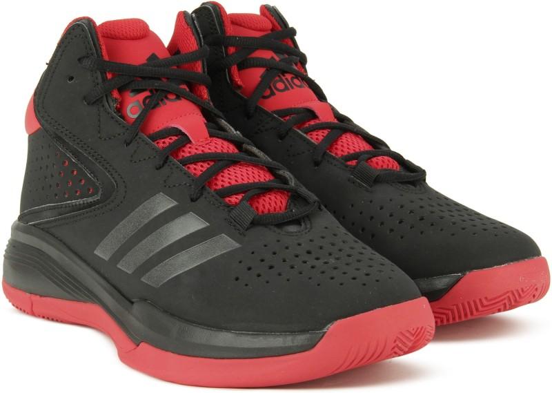Adidas CROSS EM 4 Basketball Shoes For Men(Black)