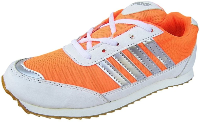 Port wego Walking Shoes For Men(Orange)