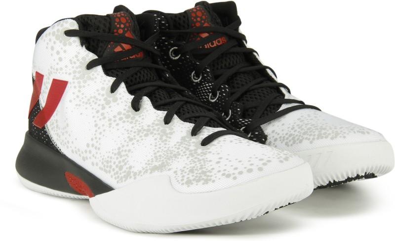 ADIDAS CRAZY HEAT Basketball Shoes For Men(Black, White)