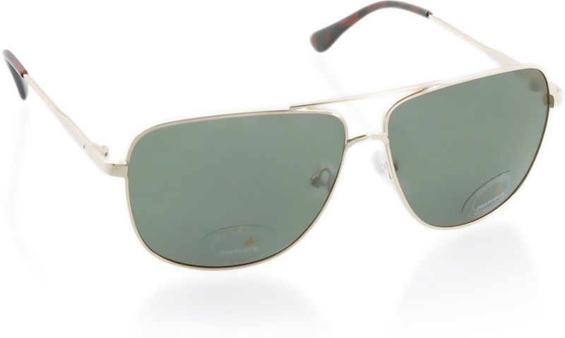 Fastrack Retro Square Sunglasses(Green)
