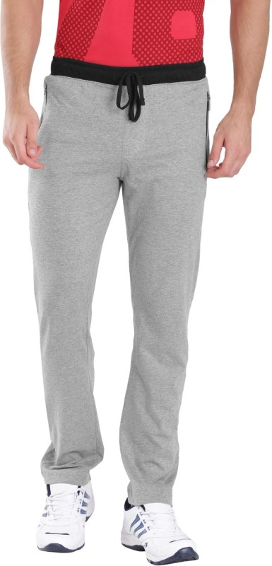Jockey Solid Men's Grey Track Pants