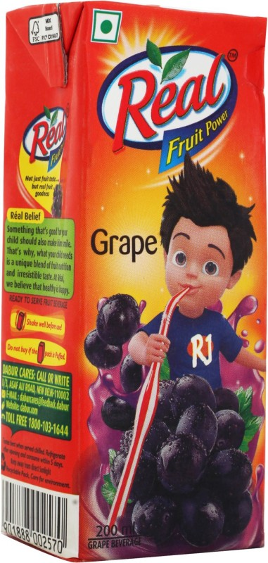 Real Fruit Juice - Grape 200 ml