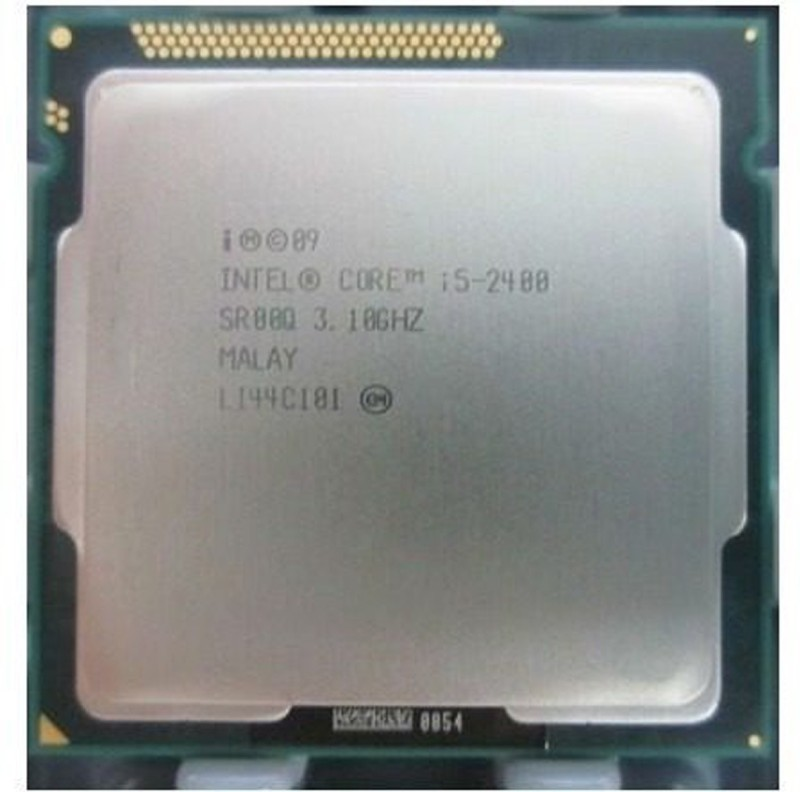 Intel 3.10 GHz LGA 1155 2400 Processor(Silver)