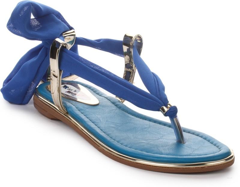 London Steps Women Blue Flats