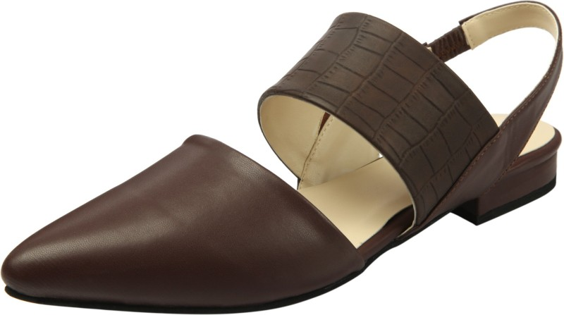 Heels & Shoes Women Brown Flats