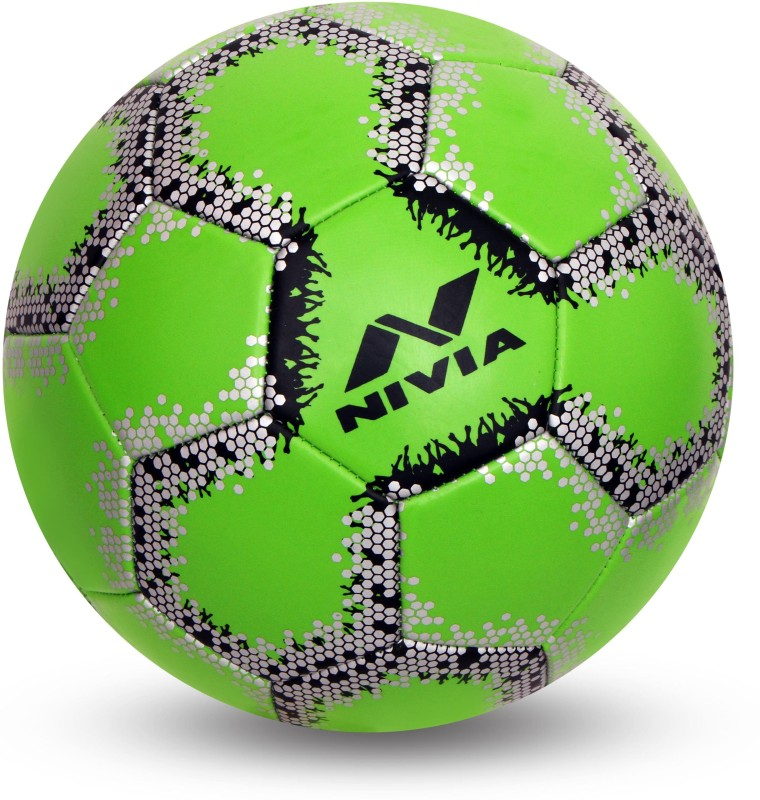 Nivia UTSAV Football - Size: 4(Pack of 1, Green)