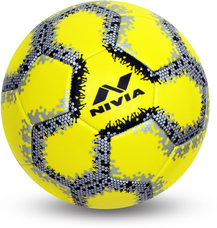 Nivia UTSAV Football - Size: 3(Pack of 1, Yellow)