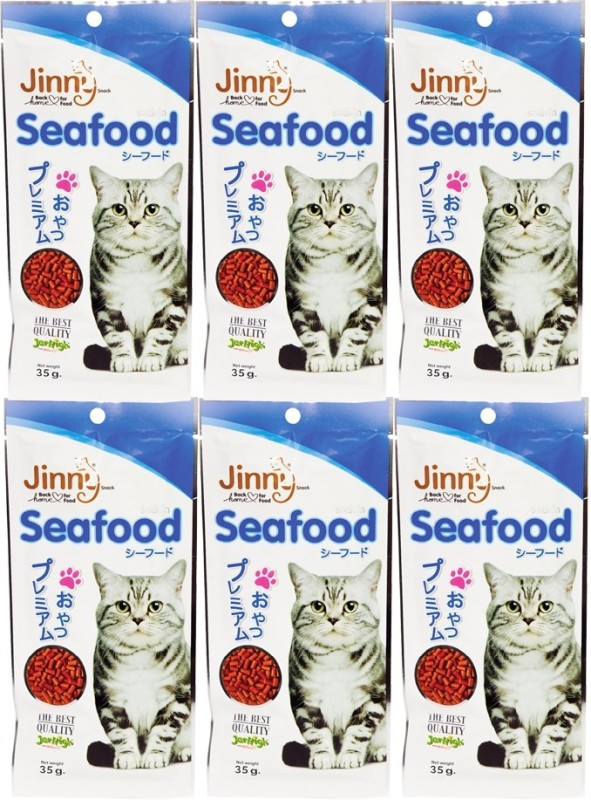 Jerhigh Jinny Chicken 35g. For Cat Chicken Cat Treat(35 g, Pack of 6)