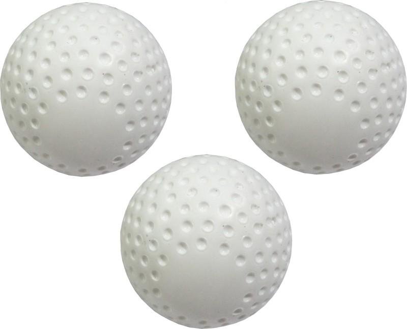 PSE Field Turf Hockey Ball(Pack of 3, White)