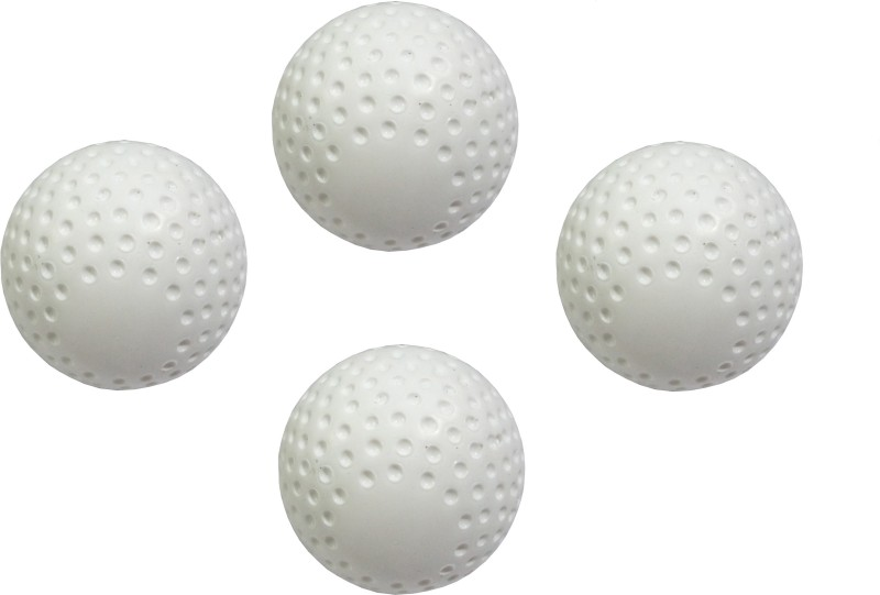 PSE Field Turf Hockey Ball(Pack of 4, White)