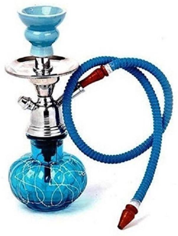 Nibbo 12 inch Glass Hookah(Blue, Blue)