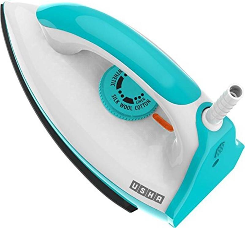 Usha EI 3602 LW TEFLON Dry Iron(Icy Blue)