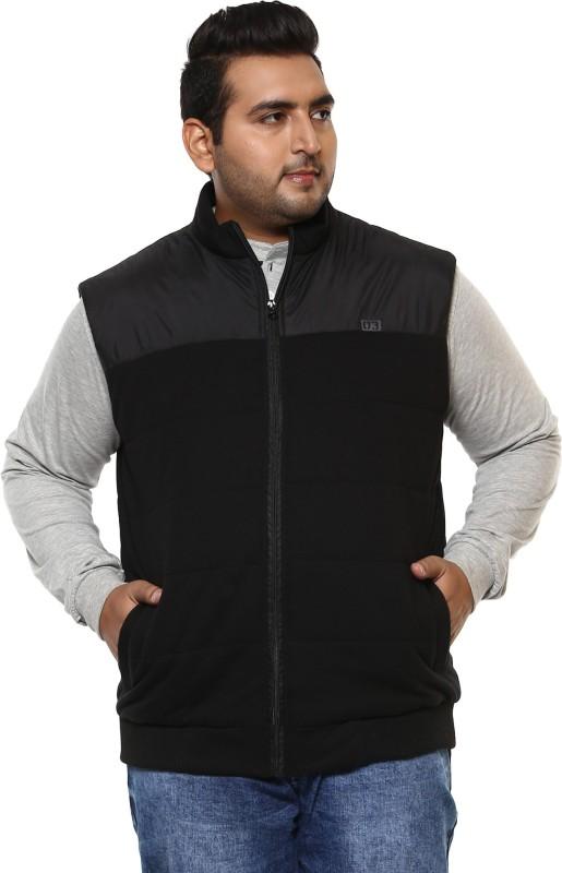 John Pride Sleeveless Solid Men Jacket