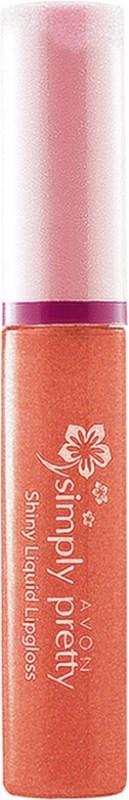 Avon Caramel Shine - Simply Pretty Shiny Liquid Lipgloss(3 ml, CARAMEL SHINE)