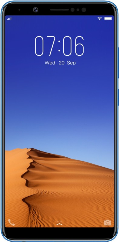 Vivo V7+ (Energetic Blue, 64 GB)(4 GB RAM)