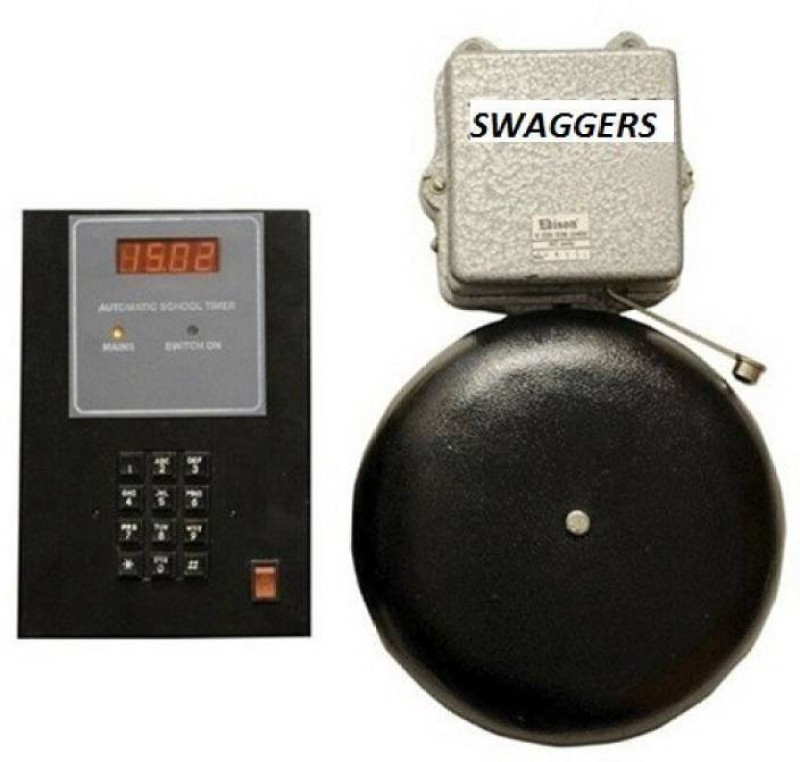 swaggers automatic school timer 9989 automatic school timer0012 Indoor, Outdoor PA System(120 W)
