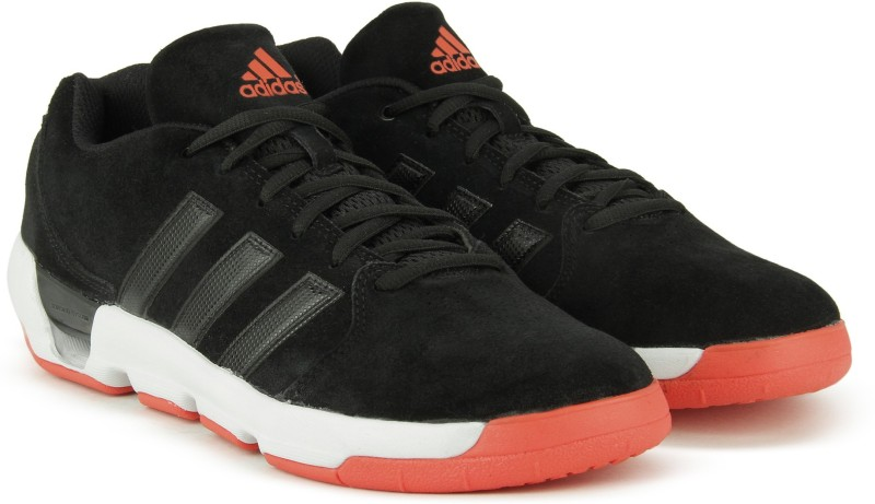 ADIDAS DAILY DOUBLE 4 LOW Basketball Shoes For Men(Black)