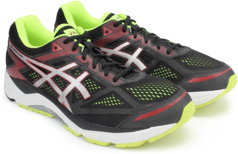 Asics GEL-FOUNDATION 12 (4E) Running Shoes For Men(Black)