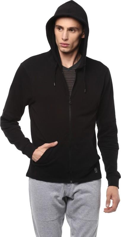 People Full Sleeve Solid Men Sweatshirt