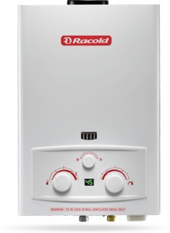 Racold 6 L Gas Water Geyser(White, Gas6 - LPG LED)