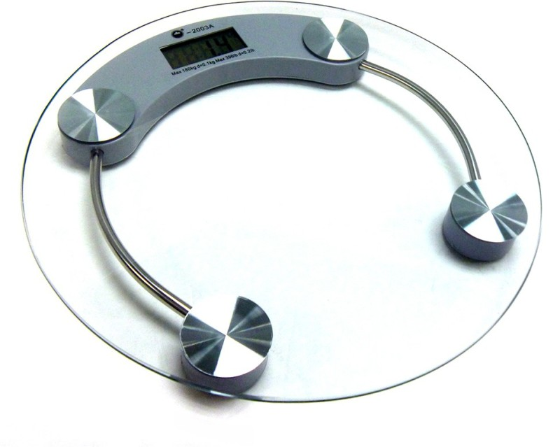 seychelles Accurate Bathroom Weighing Scale(White)