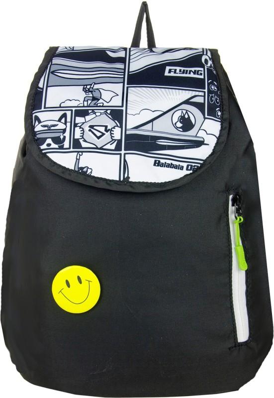 JG Shoppe JGSTS 6 L Backpack(Black)